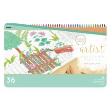 Kaisercraft Artist Coloured Pencils 36pc Tin
